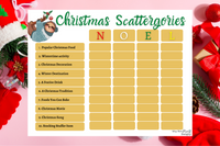 Christmas Scattergories
