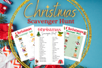 Christmas Scavenger Hunt - Why Not Mom