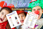 New Year's Eve Scavenger Hunt - Why Not Mom