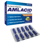 Amlacid Capsules - Acidity Reducing Medicine - Sushruta Ayurvedic Therapy Center