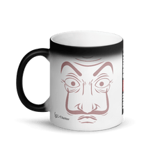 Load image into Gallery viewer, Matte/Glossy Black Magic Mug - Cartoon Yourself In LA CASA STYLE