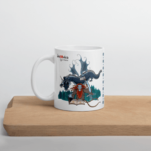 Load image into Gallery viewer, Mugs Solomonarul - The Dragon Rider & Master of Storms | Coffee Mug 𝔅 ♘ ℞ ScarletterDesign