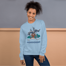 Load image into Gallery viewer, Sweatshirt Solomonarul - The Dragon Rider & Master of Storms | Unisex Sweatshirt 𝔅 ♘ ℞ ScarletterDesign