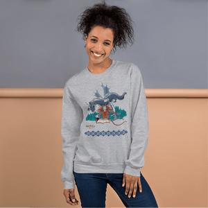 Sweatshirt Solomonarul - The Dragon Rider & Master of Storms | Unisex Sweatshirt 𝔅 ♘ ℞ ScarletterDesign