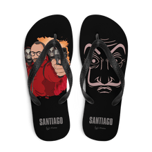 Load image into Gallery viewer, Flip Flop Flip-Flops Cartoon Yourself In LA CASA STYLE | Personalised Cartoon | Hand Drawn Custom Design 𝔅 ♘ ℞ ScarletterDesign L
