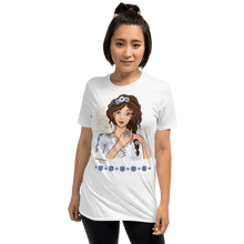 Load image into Gallery viewer, T-shirt Ileana Cosanzeana - The Charming Princess | Short-Sleeve T-Shirt 𝔅 ♘ ℞ ScarletterDesign White / S