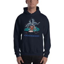 Load image into Gallery viewer, Hoodie Solomonarul - The Dragon Rider & Master of Storms | Unisex Hoodie 𝔅 ♘ ℞ ScarletterDesign Navy / S