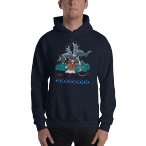 Hoodie Solomonarul - The Dragon Rider & Master of Storms | Unisex Hoodie 𝔅 ♘ ℞ ScarletterDesign Navy / S