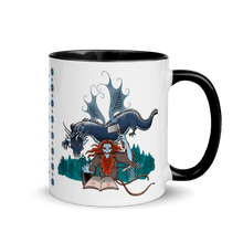 Load image into Gallery viewer, Mugs Solomonarul - The Dragon Rider & Master of Storms | Coffee Mug with Color Inside 𝔅 ♘ ℞ ScarletterDesign Black