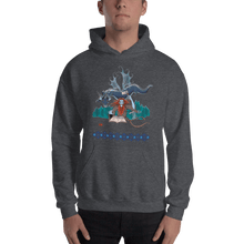 Load image into Gallery viewer, Hoodie Solomonarul - The Dragon Rider & Master of Storms | Unisex Hoodie 𝔅 ♘ ℞ ScarletterDesign Dark Heather / S