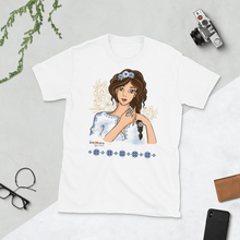 Load image into Gallery viewer, T-shirt Ileana Cosanzeana - The Charming Princess | Short-Sleeve T-Shirt 𝔅 ♘ ℞ ScarletterDesign