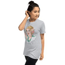 Load image into Gallery viewer, T-shirt Personalised Unisex T-Shirt Portraits Hand Drawn Custom Cartoon Design | Cartoon Yourself 𝔅 ♘ ℞ ScarletterDesign