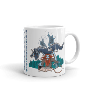 Mugs Solomonarul - The Dragon Rider & Master of Storms | Coffee Mug 𝔅 ♘ ℞ ScarletterDesign 11oz