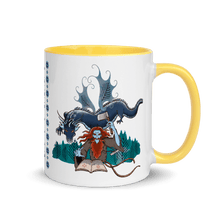 Load image into Gallery viewer, Mugs Solomonarul - The Dragon Rider & Master of Storms | Coffee Mug with Color Inside 𝔅 ♘ ℞ ScarletterDesign Yellow