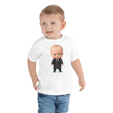 Load image into Gallery viewer, T-shirt Personalized Toddler Short Sleeve Tee Hand Drawn Custom Cartoon Design | Cartoon Yourself 𝔅 ♘ ℞ ScarletterDesign