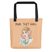 Load image into Gallery viewer, Bag Personalised Tote Bag Nude Cartoon Hand Drawn Custom Design  | Cartoon Yourself 𝔅 ♘ ℞ ScarletterDesign
