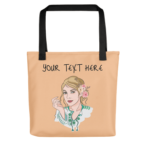 Bag Personalised Tote Bag Nude Cartoon Hand Drawn Custom Design  | Cartoon Yourself 𝔅 ♘ ℞ ScarletterDesign