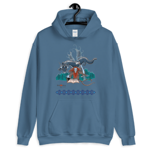 Hoodie Solomonarul - The Dragon Rider & Master of Storms | Unisex Hoodie 𝔅 ♘ ℞ ScarletterDesign