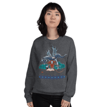 Load image into Gallery viewer, Sweatshirt Solomonarul - The Dragon Rider & Master of Storms | Unisex Sweatshirt 𝔅 ♘ ℞ ScarletterDesign Dark Heather / S