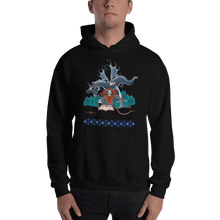 Load image into Gallery viewer, Hoodie Solomonarul - The Dragon Rider & Master of Storms | Unisex Hoodie 𝔅 ♘ ℞ ScarletterDesign Black / S