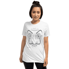 Load image into Gallery viewer, T-shirt Unisex T-Shirt La Casa De Papel Mask | Hand Drawn Design B ♘ ℞ ScarletterDesign