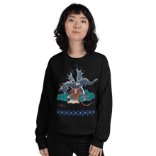 Load image into Gallery viewer, Sweatshirt Solomonarul - The Dragon Rider & Master of Storms | Unisex Sweatshirt 𝔅 ♘ ℞ ScarletterDesign Black / S