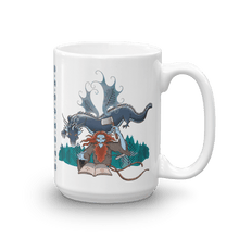 Load image into Gallery viewer, Mugs Solomonarul - The Dragon Rider & Master of Storms | Coffee Mug 𝔅 ♘ ℞ ScarletterDesign 15oz
