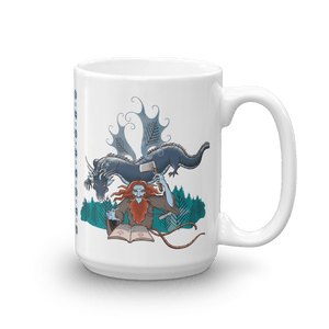Mugs Solomonarul - The Dragon Rider & Master of Storms | Coffee Mug 𝔅 ♘ ℞ ScarletterDesign 15oz