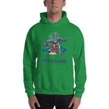Load image into Gallery viewer, Hoodie Solomonarul - The Dragon Rider & Master of Storms | Unisex Hoodie 𝔅 ♘ ℞ ScarletterDesign Irish Green / S