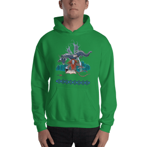 Hoodie Solomonarul - The Dragon Rider & Master of Storms | Unisex Hoodie 𝔅 ♘ ℞ ScarletterDesign Irish Green / S