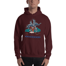 Load image into Gallery viewer, Hoodie Solomonarul - The Dragon Rider & Master of Storms | Unisex Hoodie 𝔅 ♘ ℞ ScarletterDesign Maroon / S