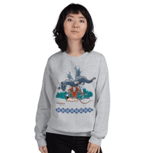 Load image into Gallery viewer, Sweatshirt Solomonarul - The Dragon Rider & Master of Storms | Unisex Sweatshirt 𝔅 ♘ ℞ ScarletterDesign Sport Grey / S