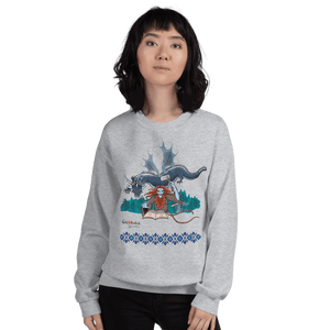 Sweatshirt Solomonarul - The Dragon Rider & Master of Storms | Unisex Sweatshirt 𝔅 ♘ ℞ ScarletterDesign Sport Grey / S