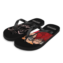 Load image into Gallery viewer, Flip Flop Flip-Flops Cartoon Yourself In LA CASA STYLE | Personalised Cartoon | Hand Drawn Custom Design 𝔅 ♘ ℞ ScarletterDesign S