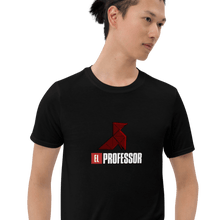 Load image into Gallery viewer, Origami EL Professor | La Casa Style Unisex T-Shirt | Hand Drawn Design