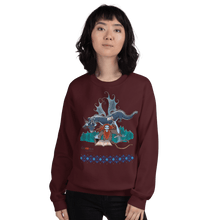 Load image into Gallery viewer, Sweatshirt Solomonarul - The Dragon Rider & Master of Storms | Unisex Sweatshirt 𝔅 ♘ ℞ ScarletterDesign Maroon / S