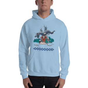 Hoodie Solomonarul - The Dragon Rider & Master of Storms | Unisex Hoodie 𝔅 ♘ ℞ ScarletterDesign Light Blue / S