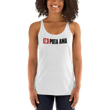 Load image into Gallery viewer, La Puta Ama Nairobi Money Heist (La casa de papel) T-shirt / Women's Racerback Tank Top