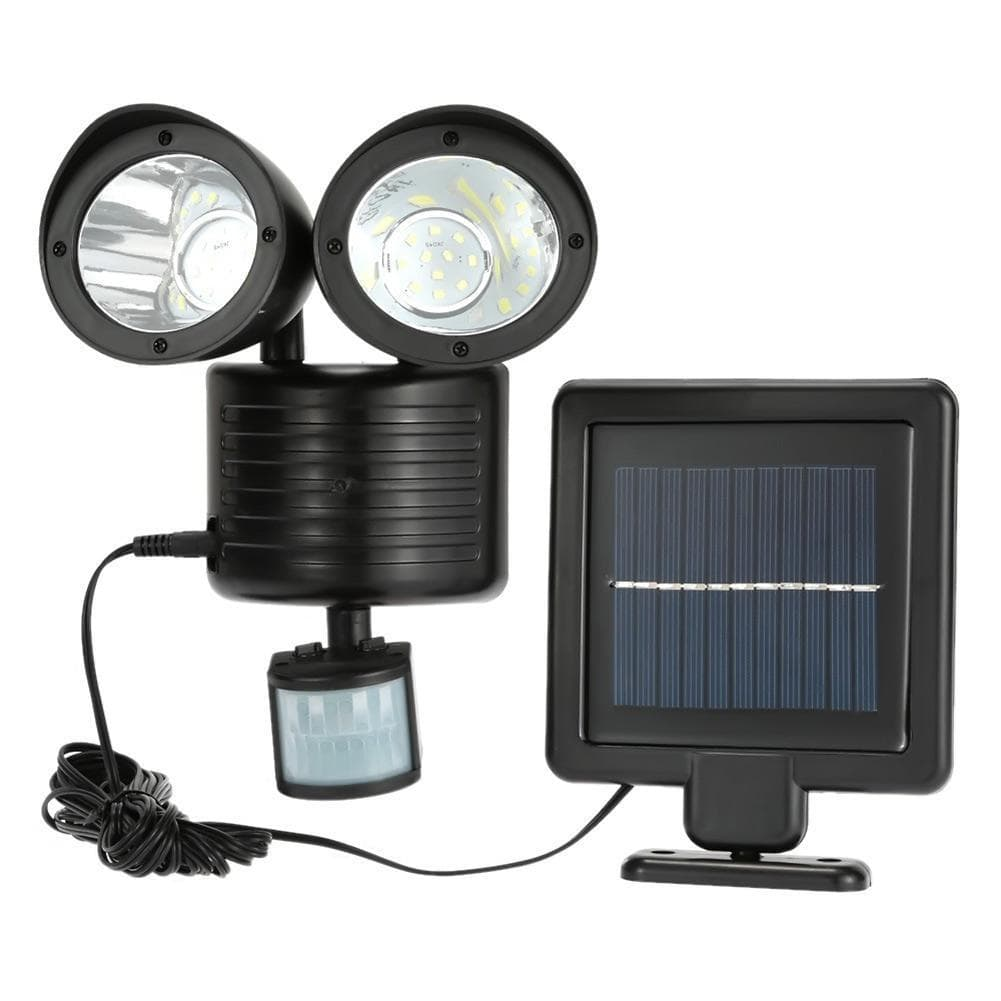 22 LED Solar Energy Bright PIR Human Body Light Sensor Induced Home Security Rotatable Detector Lamp Outdoor Lighting