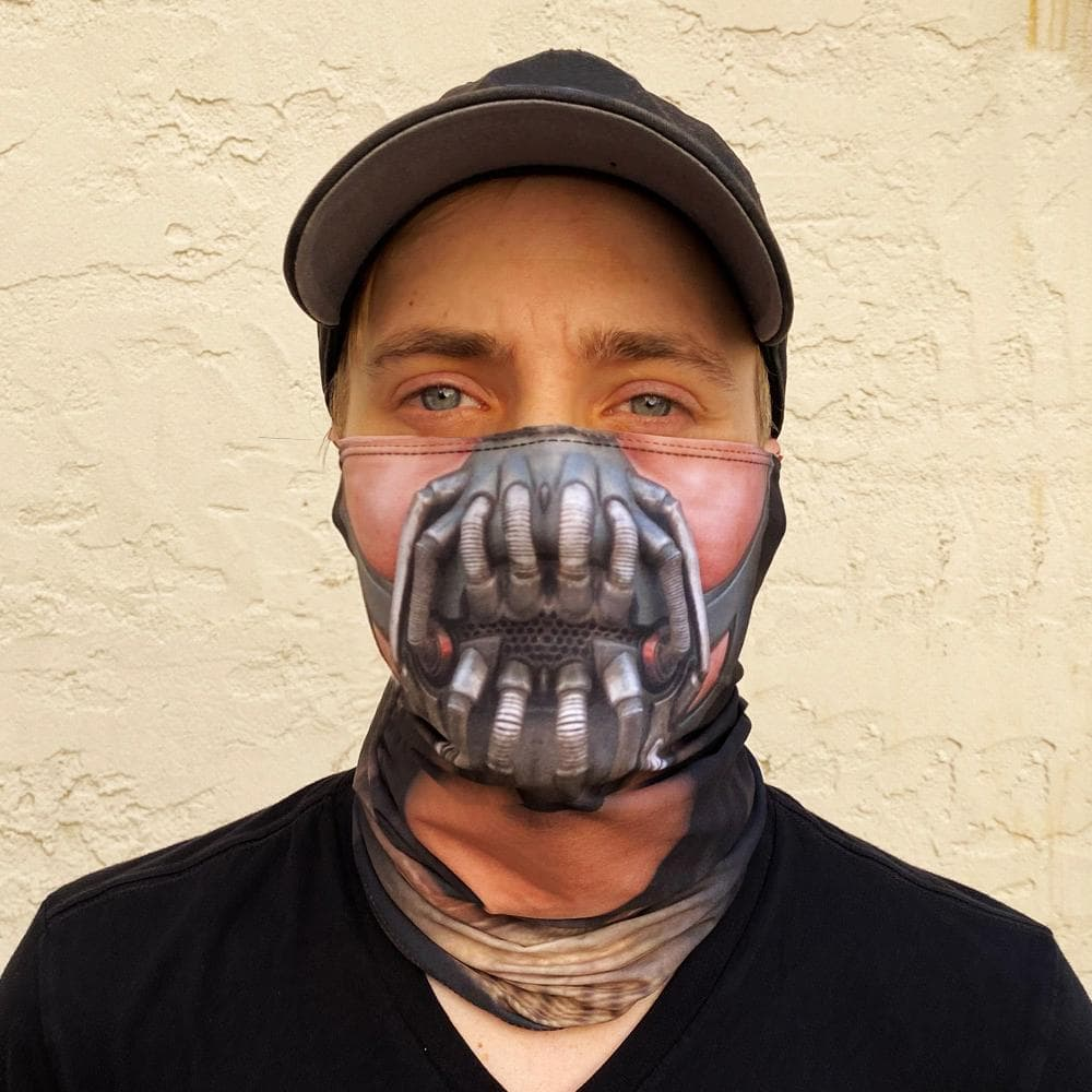 Bane Neck Gaiter Dark Knight Bane 3D Printed Balaclava Bane Face Cover