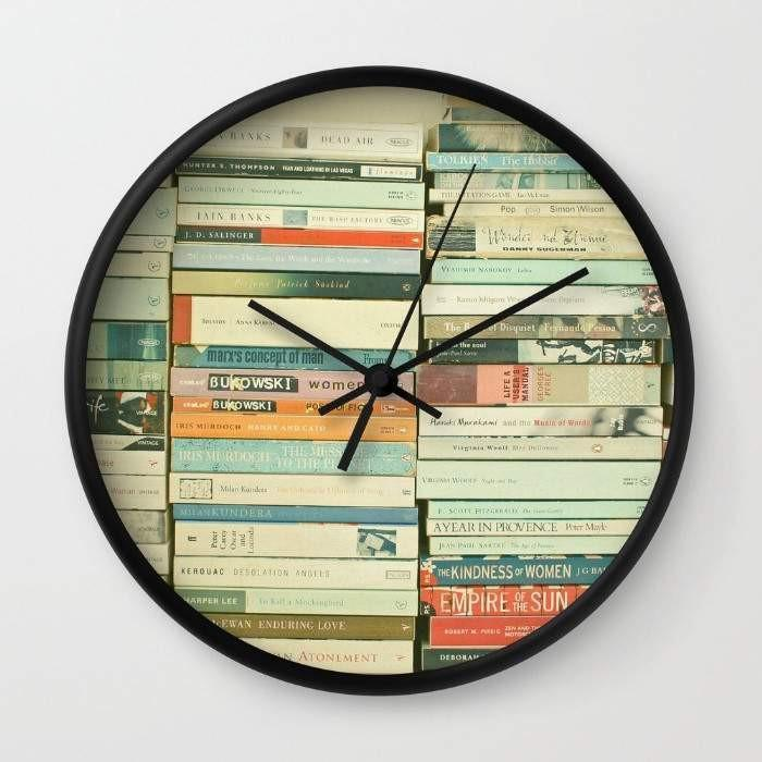 Bookworm Wall clock - Outletfy
