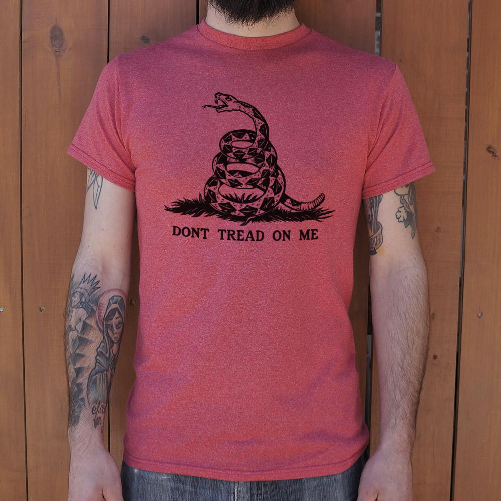 Don't Tread On Me T-Shirt (Mens) - Outletfy