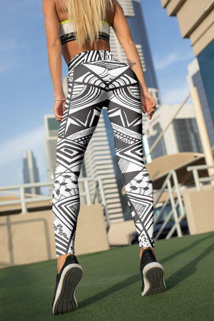 Geometric Leggings For Women Party Leggings Yoga