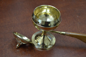 Handmade Brass Incense Burner Holder Handler - Outletfy