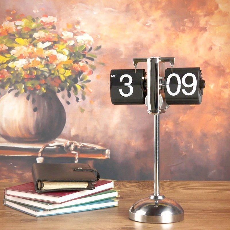 Height-adjustable Retro Flip Clock - Outletfy