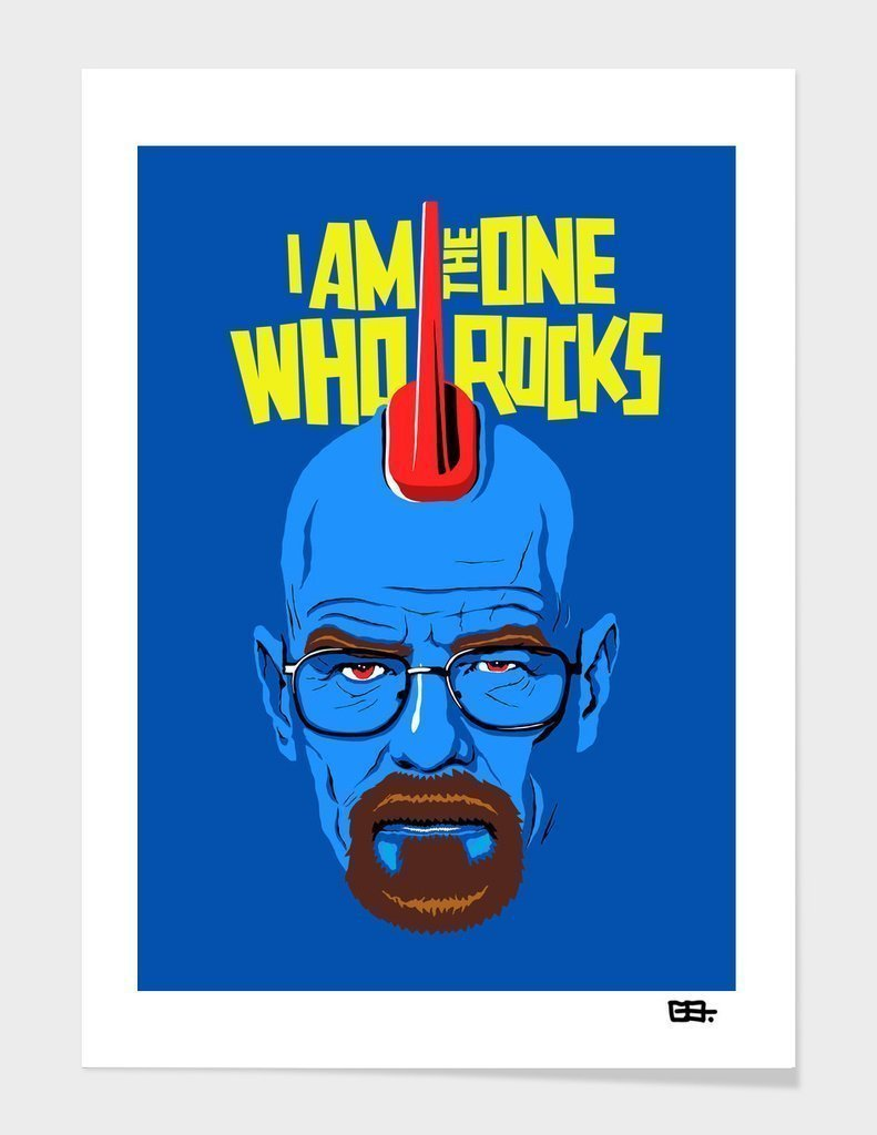 I Am The One Who Rocks Frame - Outletfy