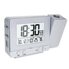 LED Display  Projector Clock with Backlight Rotate - Outletfy