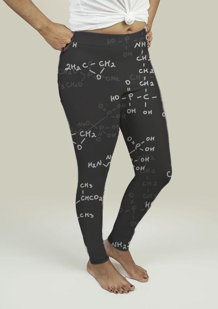Leggings with Seamless pattern - Outletfy