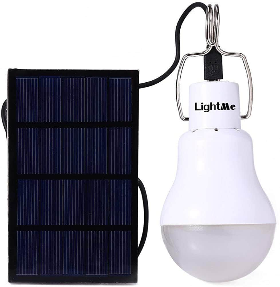 LightMe Solar light bulb