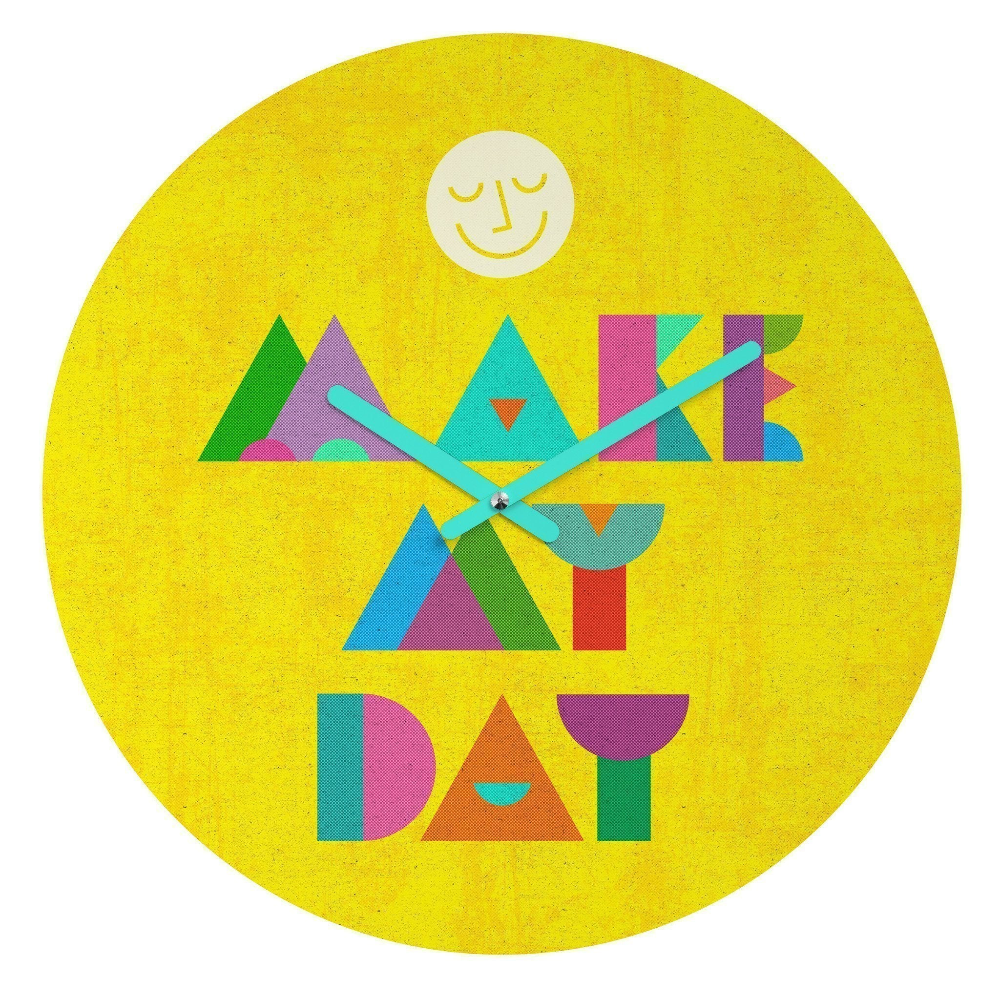 MAKE MY DAY WALL CLOCK - Outletfy